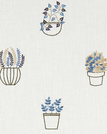 Clarke & Clarke Hidcote Denim Roman Blinds