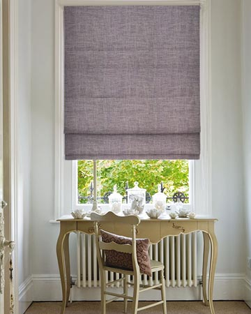 Clarke & Clarke Impulse Mocha Roman Blinds
