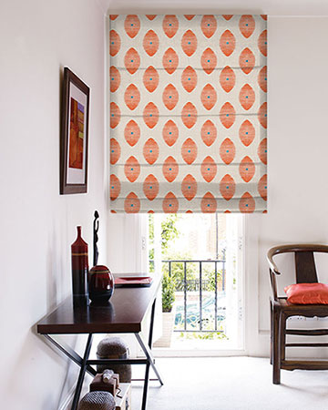 Clarke & Clarke Kindu Sunset Roman Blinds