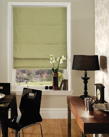 roman blinds tracks