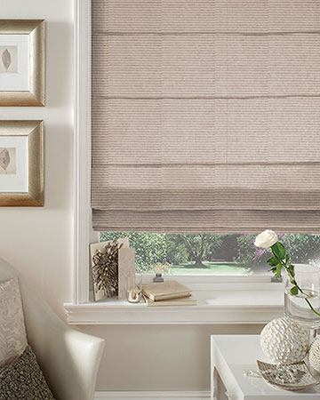 Clarke & Clarke Otto Putty Roman Blinds