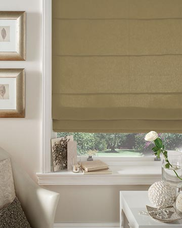 Clarke & Clarke Regal Wheat Roman Blinds