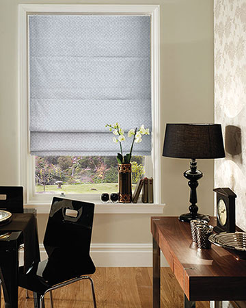Clarke & Clarke Zirah Pebble Roman Blinds