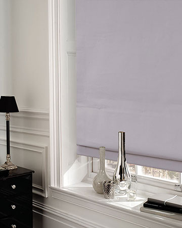 Dahlia Grey Roman Blinds