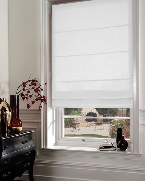 Save 60 On Dahlia Snow White Roman Blinds Uk