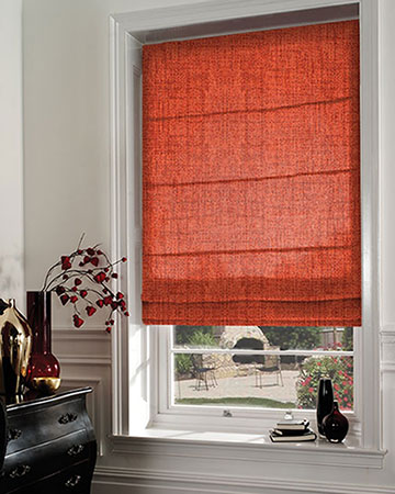 Edgar Terracotta Roman Blinds