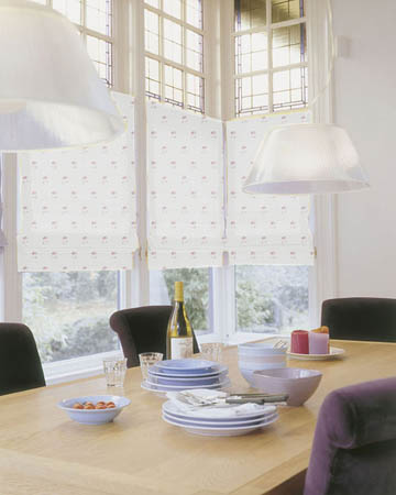 Illustration Wine Roman Blinds