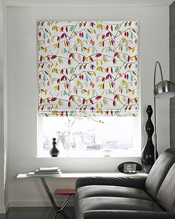 Prestigious Coco Plum Rossini Roman Blinds
