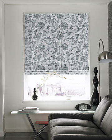 Prestigious Elysee Pebble Roman Blinds