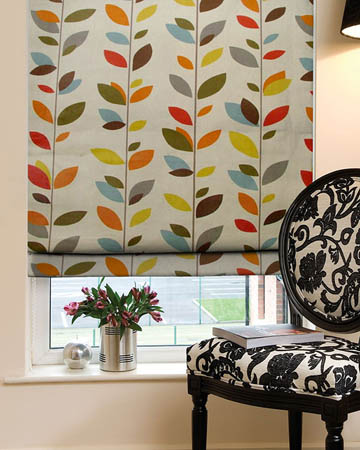 Patterned Roman Blinds Online 70 Off Blinds Uk