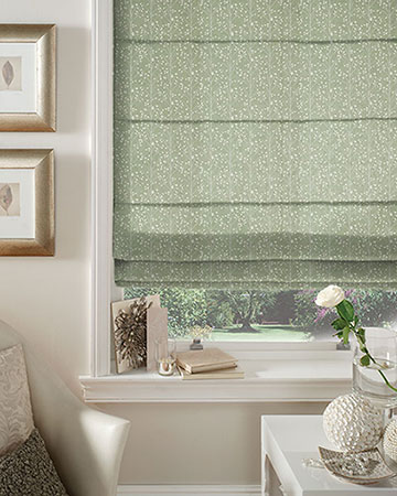 Prestigious Exmoor Willow Roman Blinds