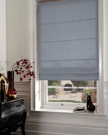 Prestigious Gem Steel Roman Blinds