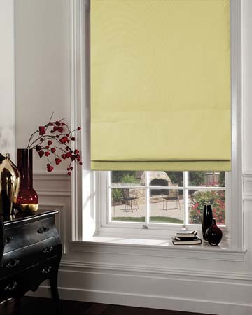 Green Roman Blinds For Less By Blinds Uk