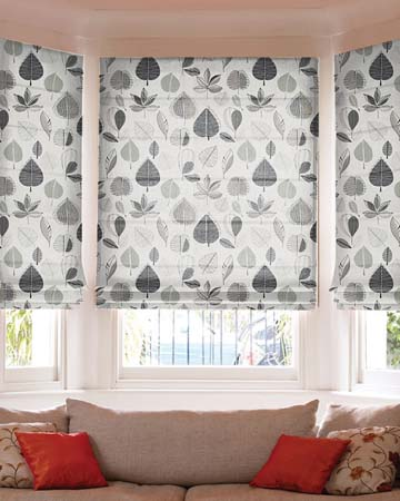 Prestigious Maple Linen Roman Blinds