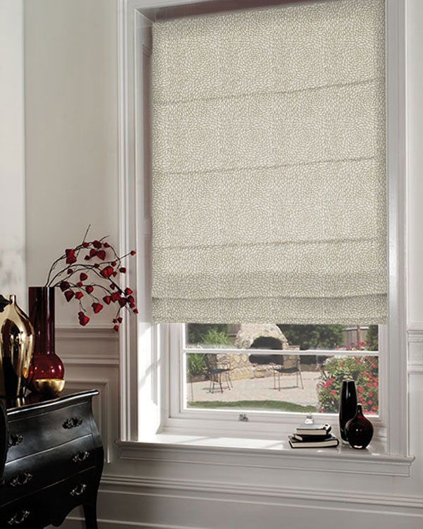 Prestigious Melbourne Linen Roman Blinds Blinds Uk