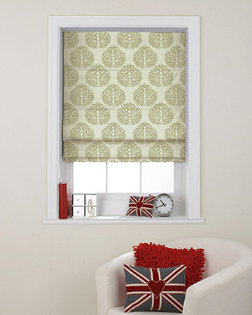 Prestigious Octavia Natural Roman Blinds