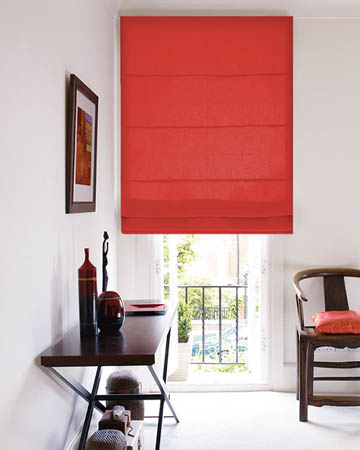 Red Roman Blinds Red Romans Blinds UK