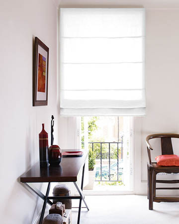 White Roman Blinds Affordable Made To
