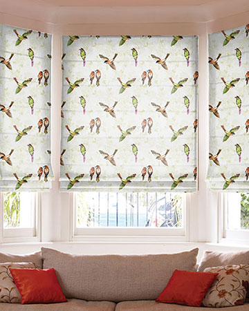 Prestigious Paradiso Autumn Roman Blinds