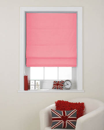 Pink Roman Blinds Hot Offers By Blinds Uk