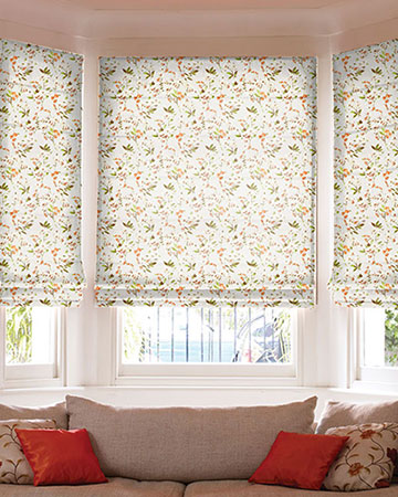 Prestigious Sophia Autumn Roman Blinds