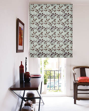 Prestigious Topia Cinnamon Roman Blinds