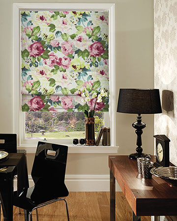 Prestigious Willoughby Verdi Roman Blinds