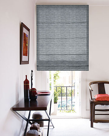 Studio G Aldo Charcoal Roman Blinds