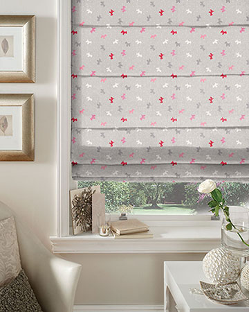 Studio G Alfie Raspberry Roman Blinds