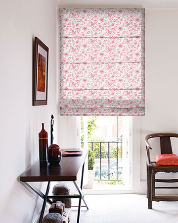 Studio G Avril Rose Roman Blinds