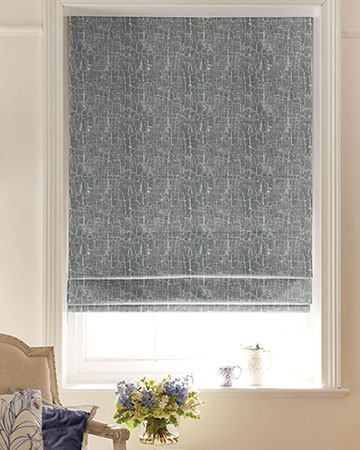 Studio G Birch Pewter Roman Blinds
