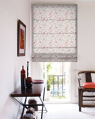 Studio G Bird Trail Rose Roman Blinds