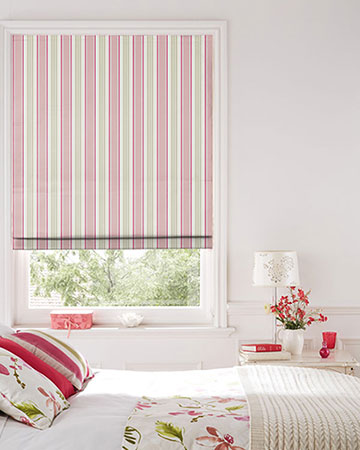 Studio G Deckchair Stripe Sage Roman Blinds