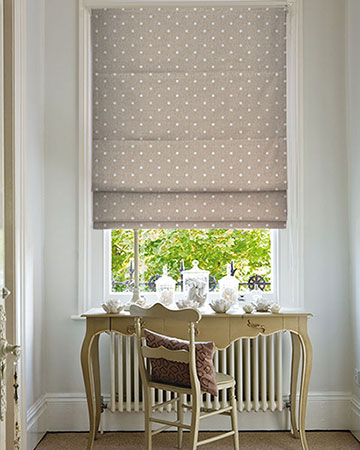 Studio G Dotty Taupe Roman Blinds