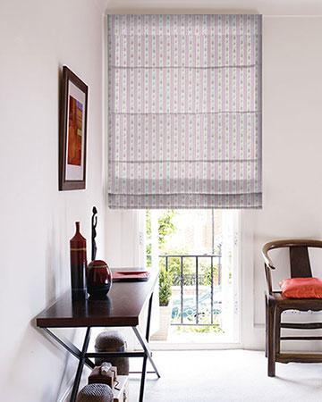 Studio G Floral Stripe Chintz Roman Blinds