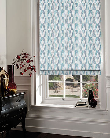 Studio G Ida Ink Roman Blinds