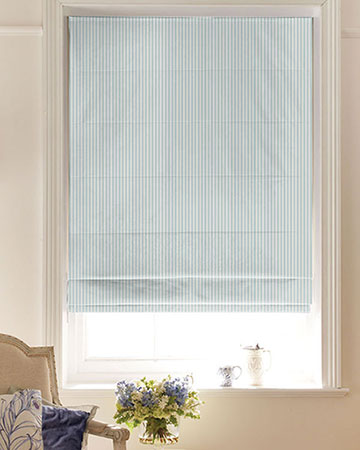 Studio G Party Stripe Mineral Roman Blinds