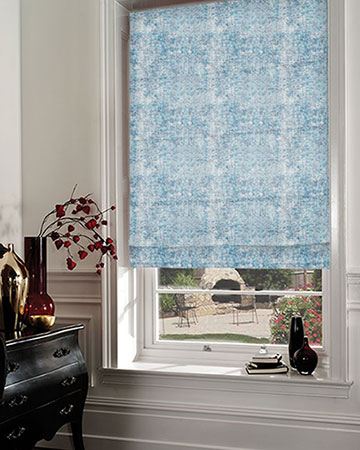 Studio G Vesta Ink Roman Blinds