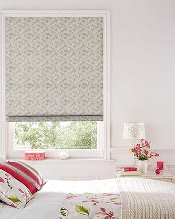 Tissus Berlin Puzzle Or Roman Blinds