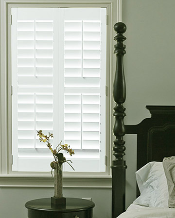 Old White Shutters