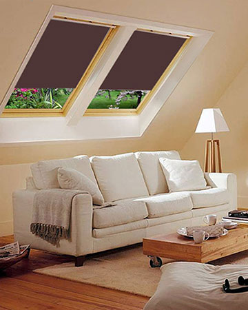 Cappuccino Blackout Velux
