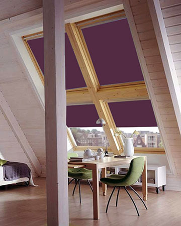 Deep Aubergine Blackout Velux