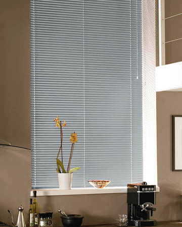 Fasttrack Grey Aluminium Venetian Blinds