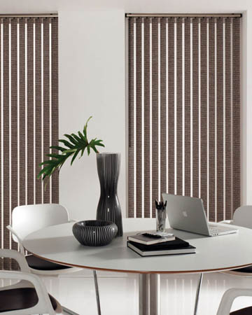 Atlantex ASC Brown Vertical Blinds