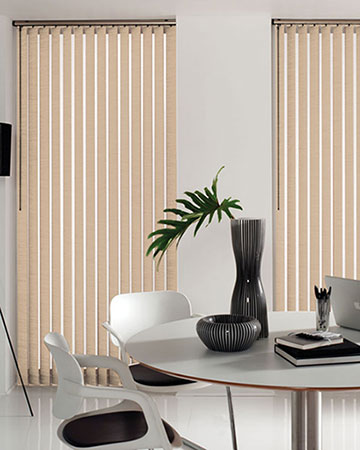 Candy Salmon Vertical Blinds