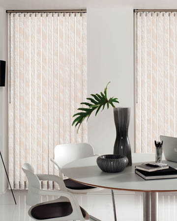 Wave Salmon Vertical Blinds