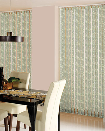 Louvolite Collina Lily Pad Vertical Blinds