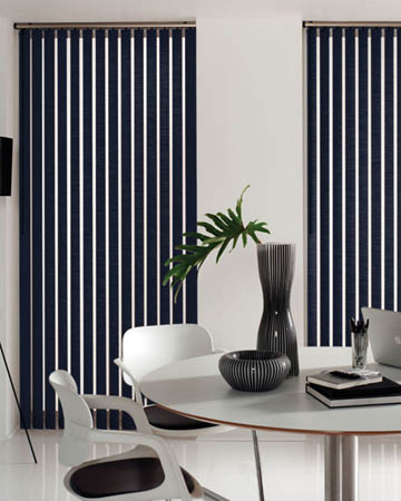 Bella Indigo Vertical Blinds