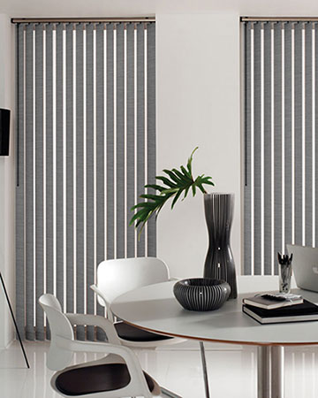 Blocklight Limestone Vertical Blinds