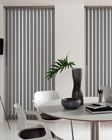 blind stripe blinds blackout vertical product roller silver dunelm diamante strip main